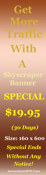 Place Your Skyscraper Banner On AccountantsWW.Com